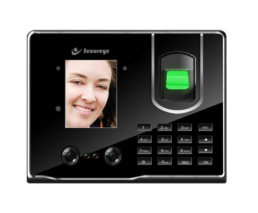 Secureye IP(Ethernet & USB) Face & Fingerprint Biometric Device