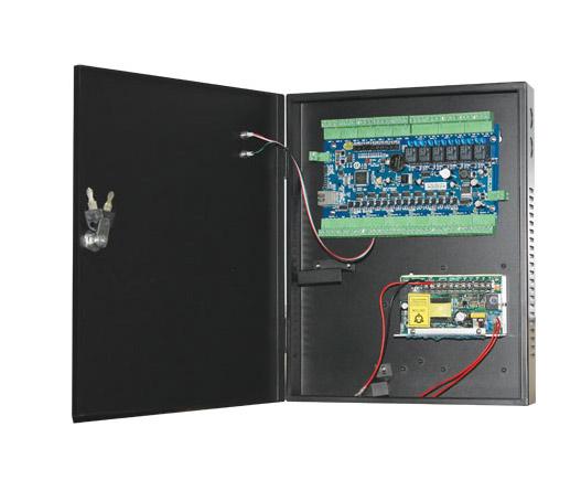 Secureye 4 Door/8 Reader Ethernet Controller with Power Supply