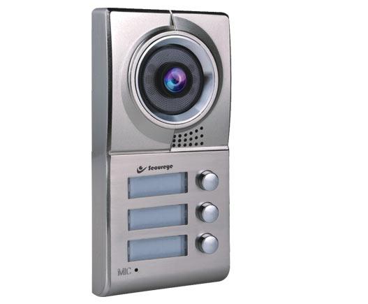 Secureye 3 Button Villa Outdoor Station