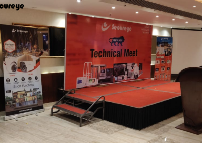 Partner Event Goa & Technical Meet - Secureye